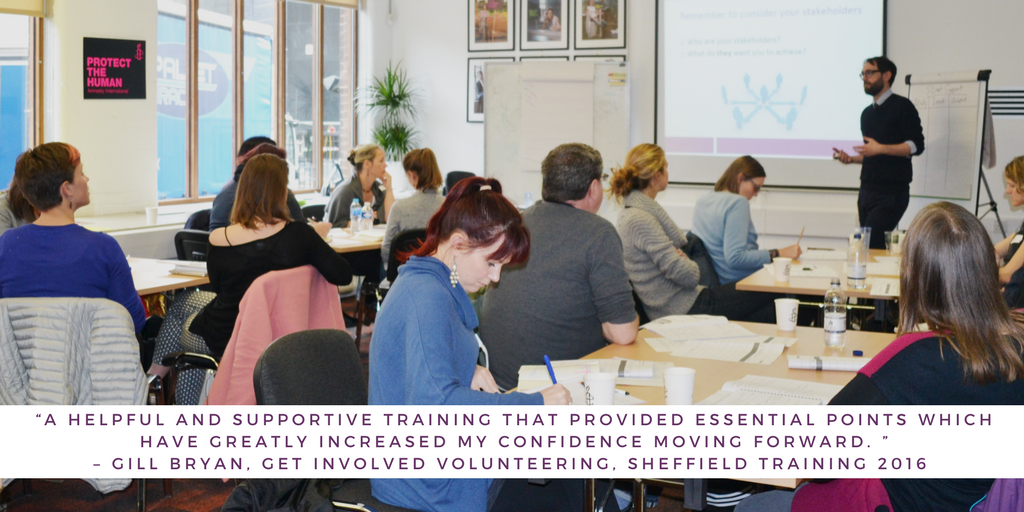 Heavily Subsidised Small Charity Training in Hull